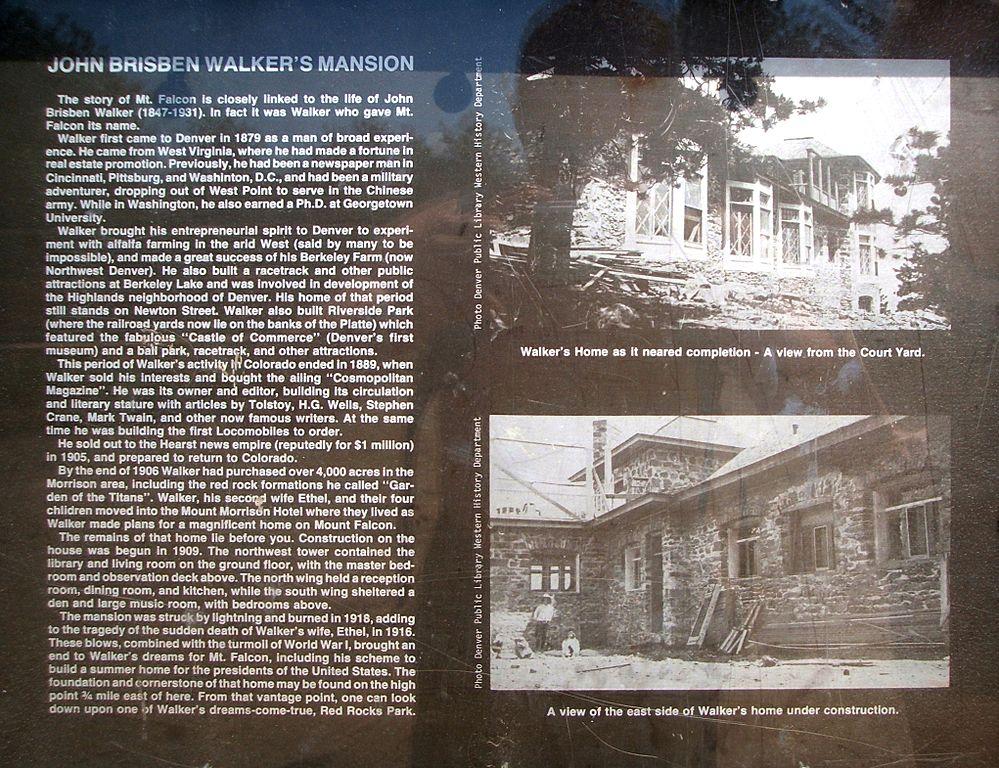 Walker Home Sign
