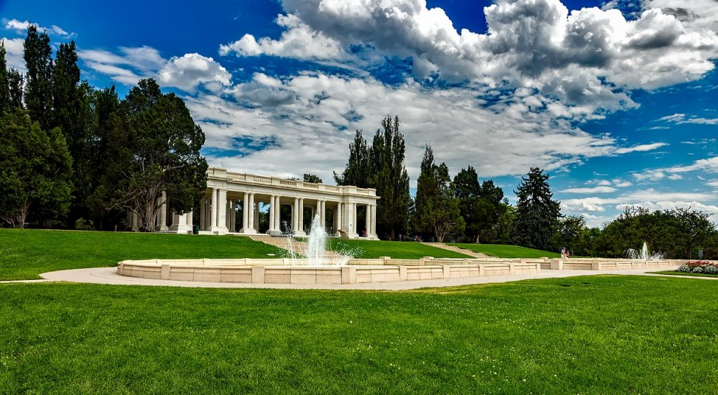 Cheesman Park Pavilion and Fountain