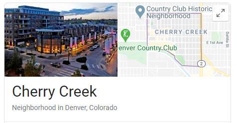 Cherry Creek Colorado Screenshot
