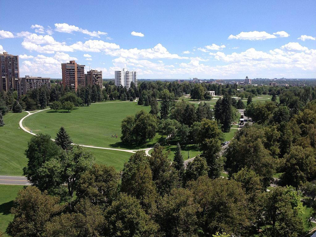 Denver Cheesman Park Wikimedia