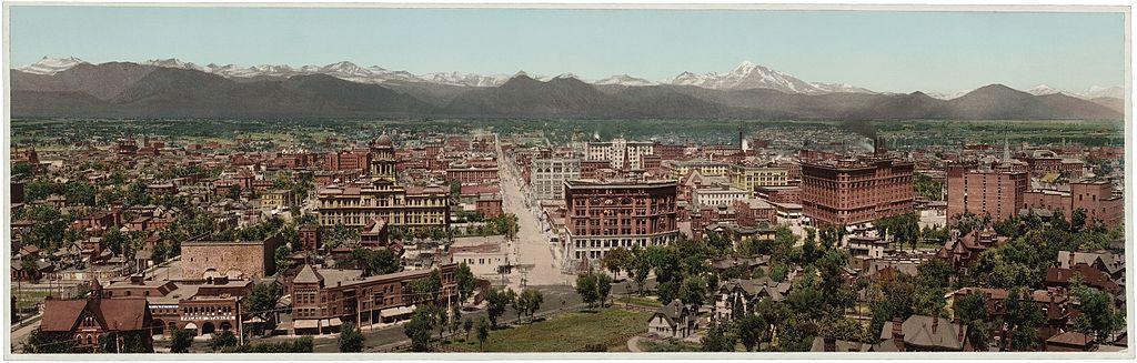 Denver in 1898