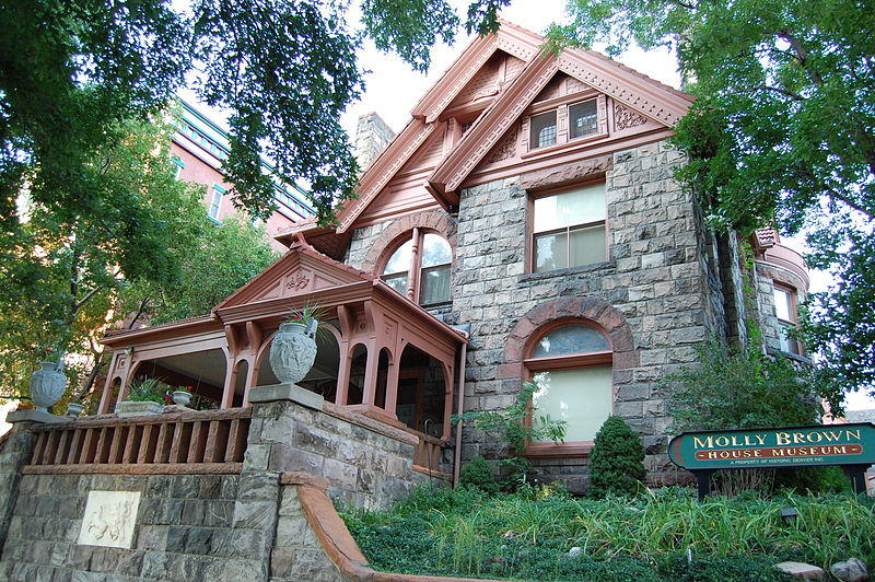 Molly Brown House Museum in Denver's Capitol Hill District.