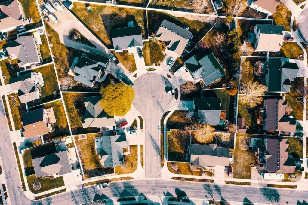 Neighborhood of single family Houses