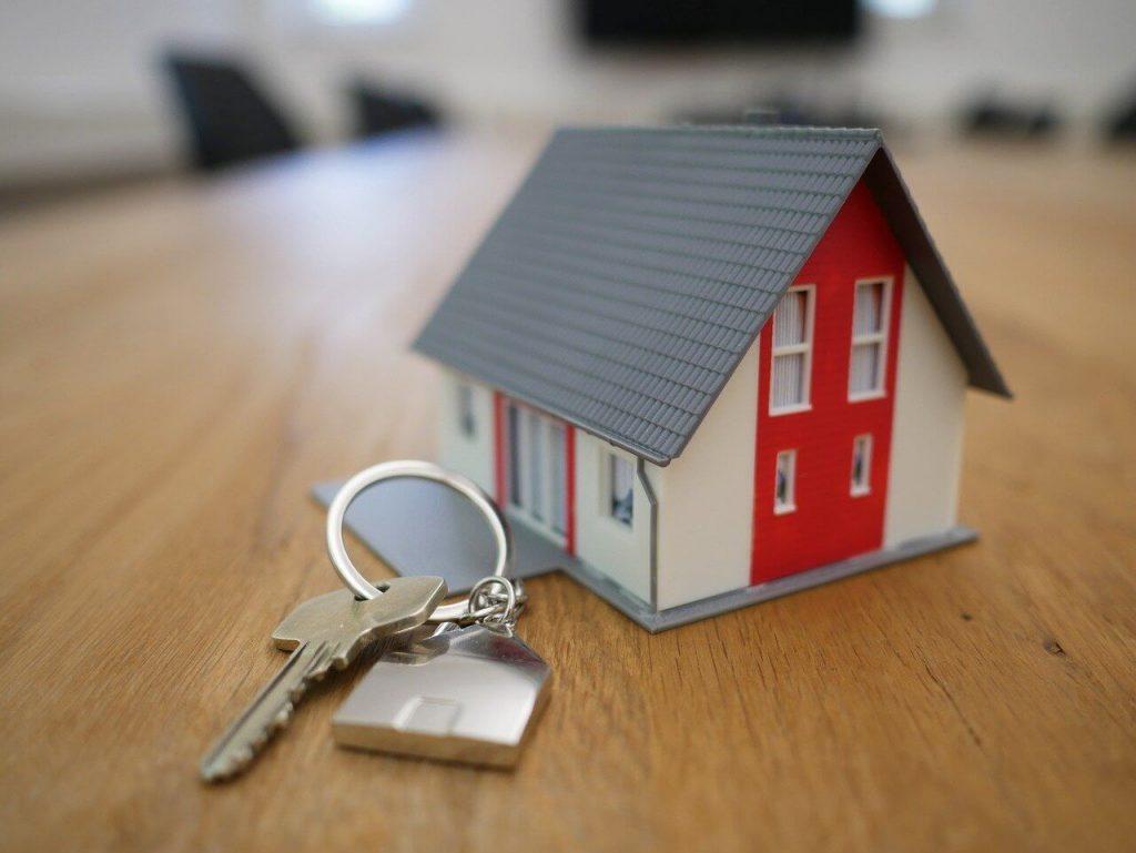 Rental Home with Keys
