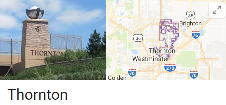 Thornton Colorado Google Listing