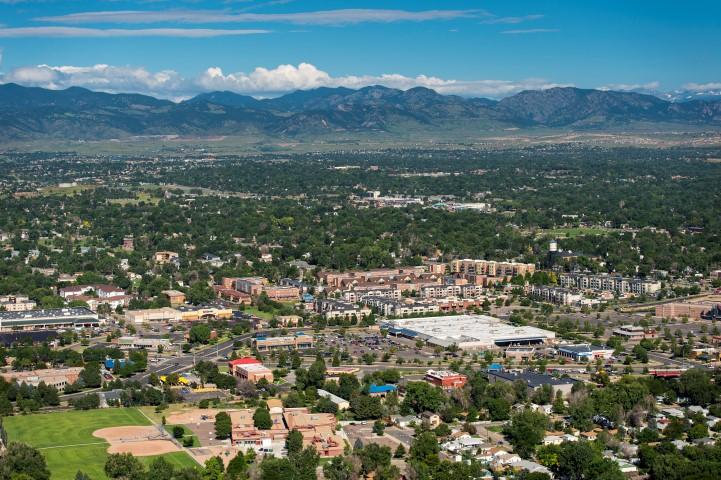 Aerial Image of Arvada Colorado