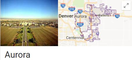 aurora colorado - google results