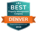 Property Management Denver Award