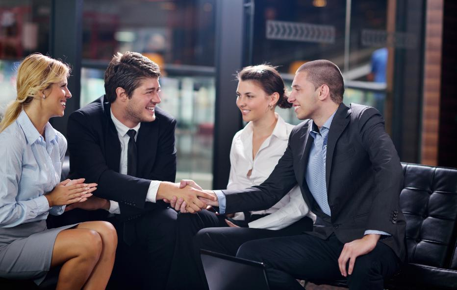 Tenant Selection Services Professionals in a meeting